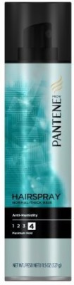Pantene Pro V Normal Thick Hair Style Anti Humidity Aerosol Hairspray(Pack Of 3) Hair Styler