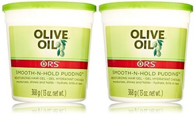 Organic R/S Root Stimulator Olive Oil Smooth Pudding (Pack Of 2) Hair Styler