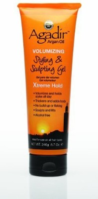 Agadir Argan Oil Volumizing Styling And Sculpting Gel Xtreme Hold Hair Styler
