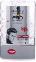 Schwarzkopf Professional Pro Styling Extreme Power Hair Gel Extra Large Size Hair Styler