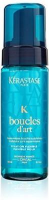 Kerastase Boucles D,Art Sculptural Curls Aqua Flexible Hold Mousse Hair Styler