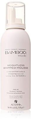 Alterna Bamboo Volume Weightless Whipped Mousse For Unisex Hair Styler