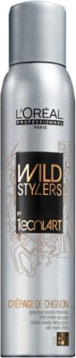 L,Oreal Paris Professional Wild Stylers Tecni Art Crepage De Chignon Spray Hair Styler