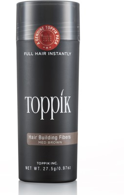 Toppik Building Fibers Medium Brown - 27.5gm Hair Styler