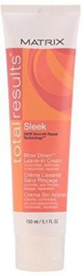 Total Results Sleek Blow Down Leave In Cream Hair Styler