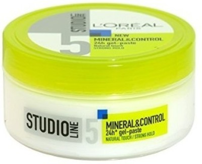 L,Oreal Paris Studio Line 5 New Mineral & Control 24h Gel-Paste Hair Styler