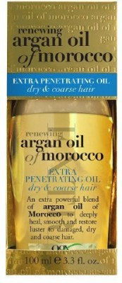 Organix Renewing Moroccan Argan Extra Penetrating Oil, Dry & Coarse Hair Hair Styler