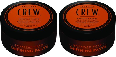 American Crew Medium Hold Defining Paste Pack of 2 Hair Styler