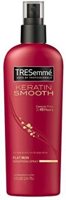 TRESemme Keratin Smooth Flat Iron Smoothing Spray (Pack Of 3) Hair Styler