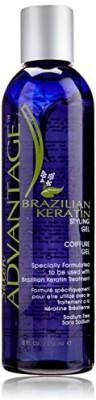 Salon Advantage Brazilian Keratin Styling Gel Hair Styler