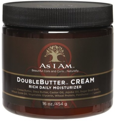 As I Am Double Butter Rich Daily Moisturizer Cream Hair Styler