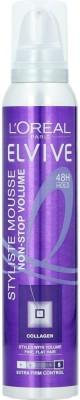 L,Oreal Paris Elvive 48h Hold Non Stop Volume 5 Styliste Mousse Hair Styler