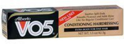 Alberto VO5 Conditioning Hairdressing Extra Body for Fine Hair Hair Styler