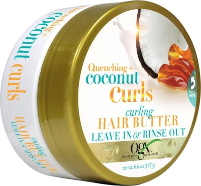 OGX Quenching+Coconut Curls Curling Hair 1butter Hair Styler