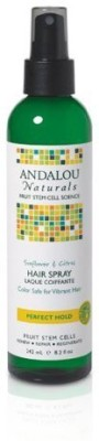 Andalou Naturals Perfect Hold Hair Spray Sunflower And Citrus Hair Styler