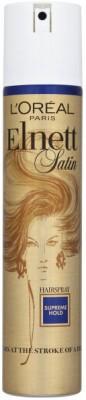 L,Oreal Paris elnett satin supreme hold hairspray Hair Styler