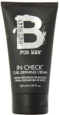 TIGI Bed Head For Men In Check Curl Defining Cream Hair Styler