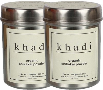 khadi Natural Organic Shikakai Powder- Twin Pack