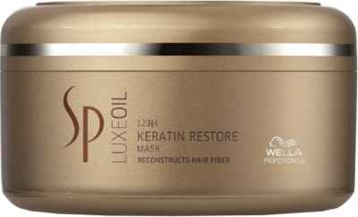 Wella Professionals System Professional Luxe Oil Keratin Restore Mask for All Hair