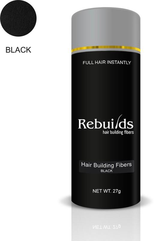 Rebuilds Hair Building Fiber - Black(27 g)