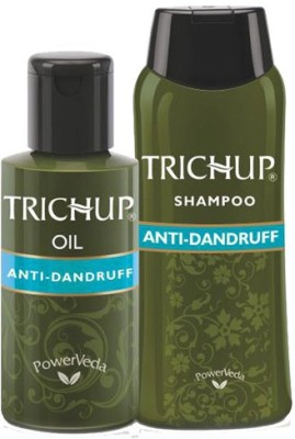 Trichup Herbal Anti-Dandruff Treatment Kit