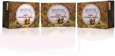 Aroma Treasures Argan-Liquid Gold Hair Spa 32g (Pack Of 3)