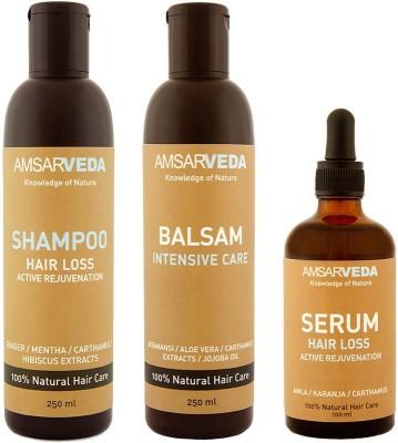 Amsarveda 100% Natural Hair Loss Special treatment Pack