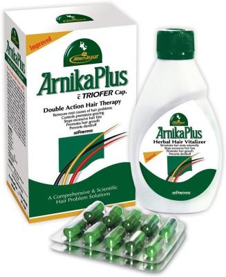 AllenAyur ArnikaPlus Triofer Hair Oil (100 ml+20cap)