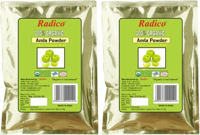 Radico Organic Amla Powder (Twin Pack)