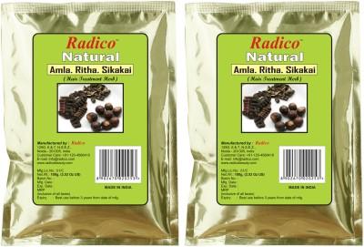 Radico Amla-Ritha-Shikakai Powder(Twin Pack)