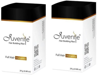 Juvenile Men Hair Building Fiber Black