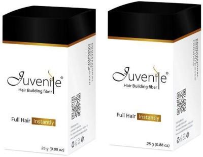 Juvenile Hair Building Fiber Medium Brown