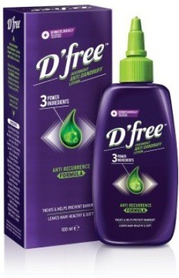 Dfree Anti Dandruff Lotion With Anti Recurrence Formula