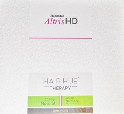 Alembic Altris Hd - Hair Hue Therapy - Dark Brown (Pack of 2) - 150gm each