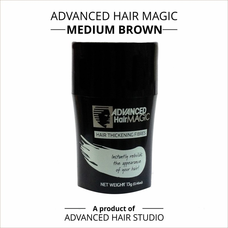 Advanced Hair Magic - Medium Brown(13 Gms)