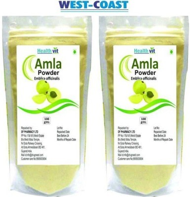 Healthvit AMLA POWDER (AMALKI) Pack of 2