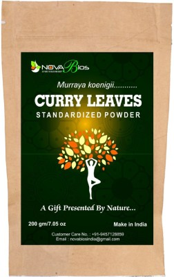 NOVA BIOS Curry Leaves Standardized Powder