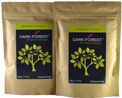 Dark Forest Brahmi + Hibiscus Combo