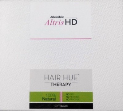 Alembic Altris Hd - Hair Hue Therapy Soft Black (Pack of 2) - 150gm each