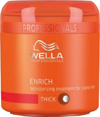 Wella Professionals Enrich moisturizing treatment mask for dry, damaged hair(150 ml)