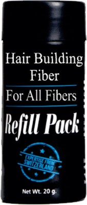 Majik Hair Building Fibers Refill Pack Black