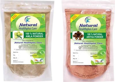 Natural Healthplus Care Aritha Amla Powder Combo