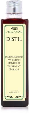Aloe Veda Dhurdhurapatradi Ayurvedic Dandruff Treatment Hair Oil
