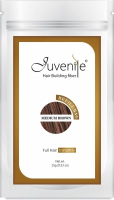Juvenile Juvenile Hair Building Fiber Refill Bag Medium Brown