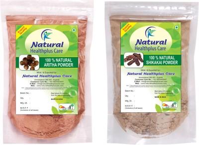 Natural Healthplus Care Aritha Shikakai Powder Combo