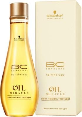 Schwarzkopf Professional BC Bonacure Oil Miracle Light Finishing Treatment