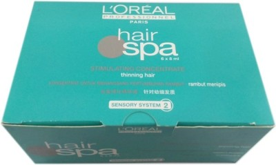 L ,Oreal Paris Hair Spa Stimulating Concentrate for Thinning Hair