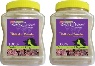 hairocare pure Shikakai Powder - Herbal Hair Care - Pack of 2 x 175g