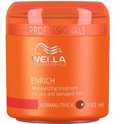 Wella Professionals Enrich Moisturizing Treatment for Dry and Damaged Hair(150 ml)