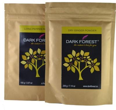 Dark Forest Long Pepper Powder & Dry Ginger Powder